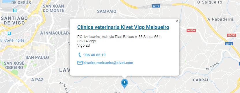 Clínica veterinaria Kivet Vigo Meixueiro