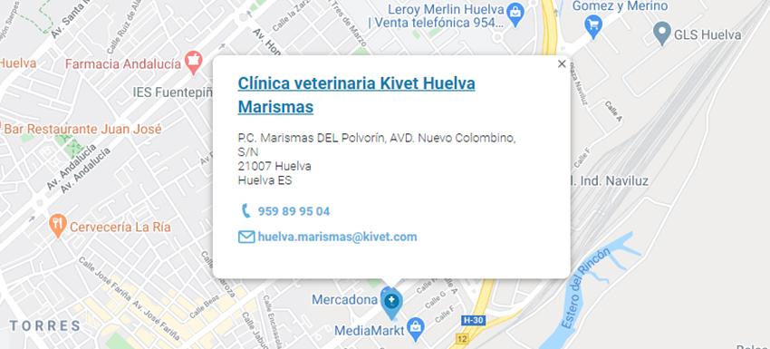 Clínica Veterinaria Kivet Huelva Marismas
