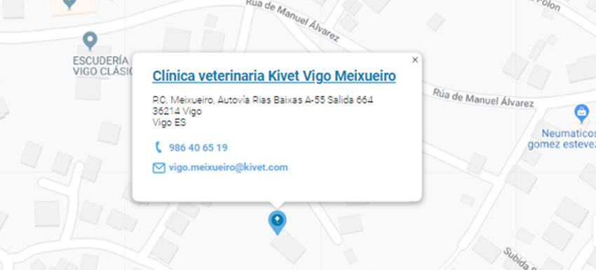 Clínica Kivet Vigo Meixueiro